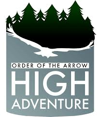 OA high adventure logo